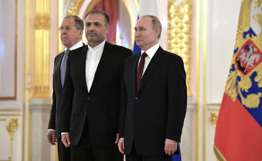 Kazem Jalali (Islamic Republic of Iran) presents his letter of credence to Vladimir Putin. N 18 tA0Q3oAkzRAOgFtoOkmTfwas4k4UN795