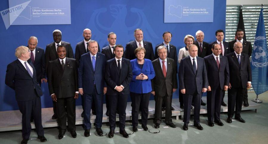 la Conférence internationale de Berlin sur la Libye du 19 janvier 2020 1042931684