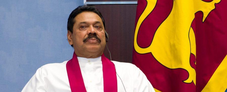 L'ancien président sri-lankais Mahinda Rajapaksa. (Source Engage) sri-lanka-mahinda-rajapaksa-e1546620394794