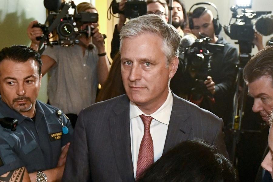 Le Conseiller américain à la sécurité nationale Robert O'Brien c69dcd8a-da1c-11e9-a65c-0eda3a42da3c