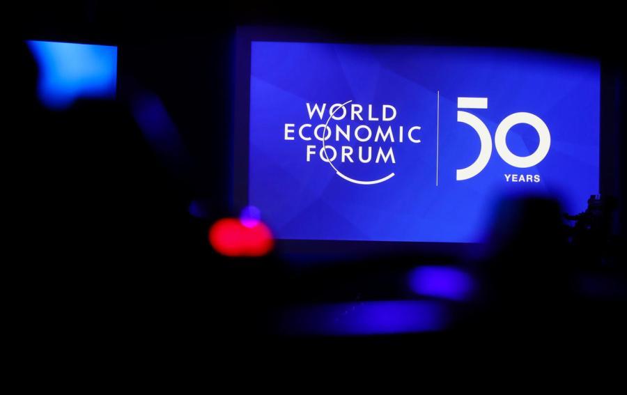Le Forum économique mondial (FEM) de Davos rts2yzom
