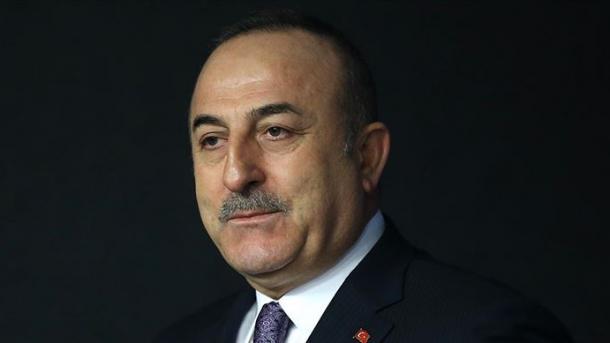 le Ministre turc des Affaires étrangères Mevlüt Cavusoglu 5e3157bc48614