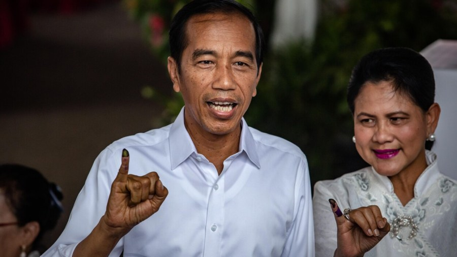 le Président indonésien Joko Widodo joko-widodo-election-indonesie