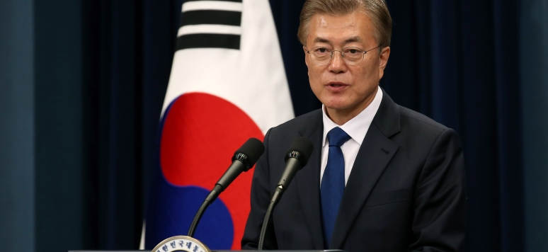 le Président Moon Jae-in president_moon_jae-in_the_1st_press_conference_10_may_2017