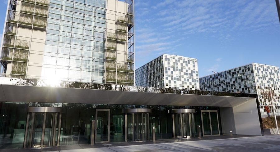 Les nouveaux bâtiments de la Cour pénale internationale à LaHaye. — © Martijn Beekman AFP file71v8q74ieyb18vpr1cvg