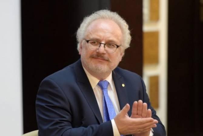 LETTONIE le Président letton Egils Levits 976511