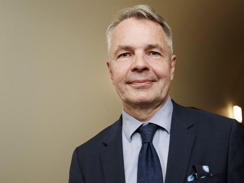 Ministre finlandais des Affaires étrangères Pekka Haavisto. 156553082