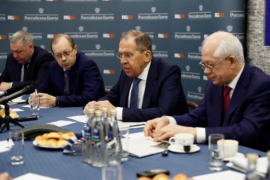 Réponses de Sergueï Lavrov, Ministre des Affaires étrangères de la Fédération de Russie, aux questions du quotidien Rossiïskaïa gazeta, Moscou, 4 février 2020 1601