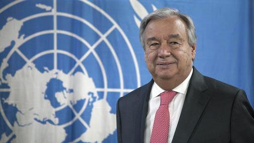 Secrétaire général de l'Onu Antonio Guterres unnamed