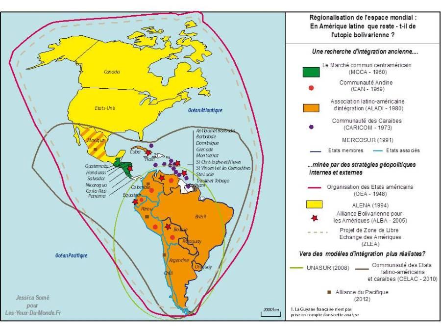 AMERIQUE LATINE CARAIBES carte_regionalisationAL-YDM