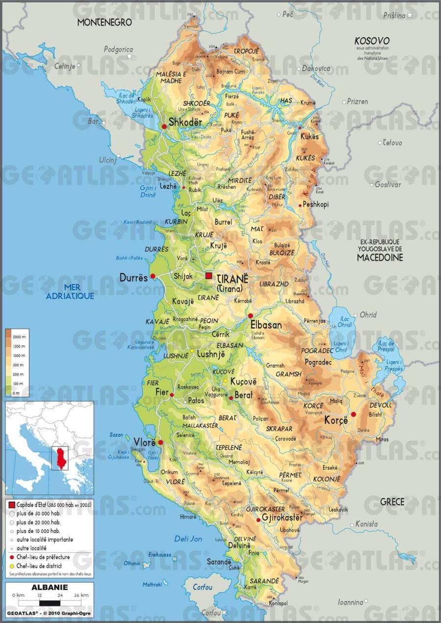 carte-albanie