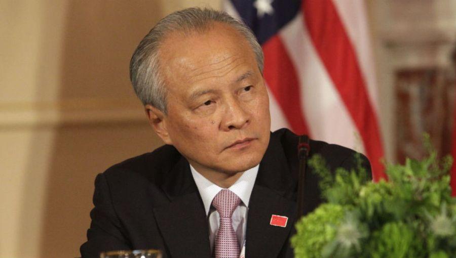 chine usa ambassadeur chinois aux États-Unis Cui Tiankai ciu_tankai
