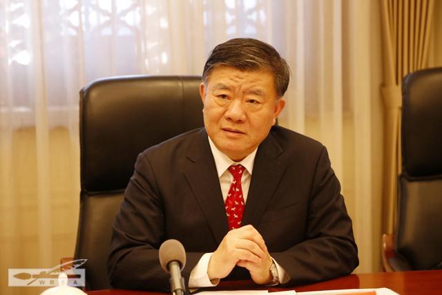 CHINE Vice-Président du Comité permanent de l'Assemblée populaire nationale Chen Zhu omtxh201701200427