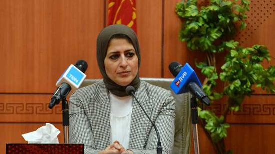 EGYPTE MINISTRE DE LA SANTE Hala-Zayed
