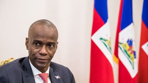 HAITI le-president-haitien-jovenel-moise-a-port-au-prince-le-22-octobre-2019_6224850