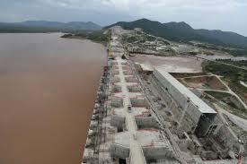 imagesLe chantier du barrage de la Renaissance, en Ethiopie, le 26 septembre 2019. Tiksa Negeri REUTERS