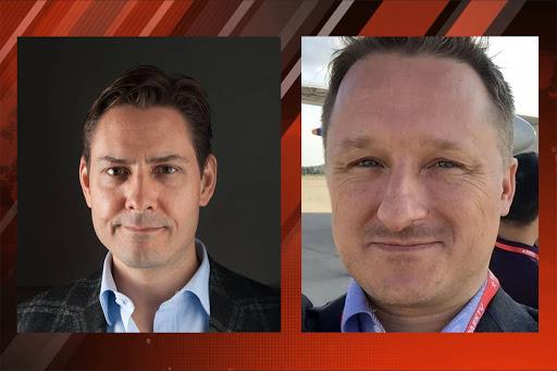 Michael Kovrig et Michael Spavor, deux citoyens canadiens.unnamed