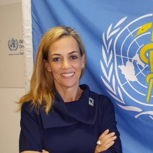OMS Carina Ferreira-Borges, directrice de l'OMS S-RCiMPr