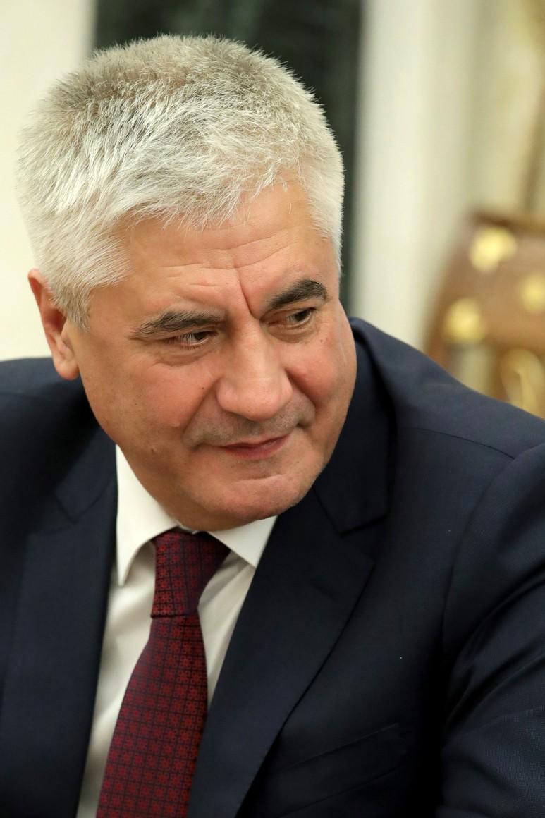 PH 5 SUR 6 Le ministre de l'Intérieur Vladimir Kolokoltsev lors de la réunion avec les membres permanents du Conseil de sécurité. UYNlIPFhJSlTFS4HfPnAsAxLAp9YhYbi