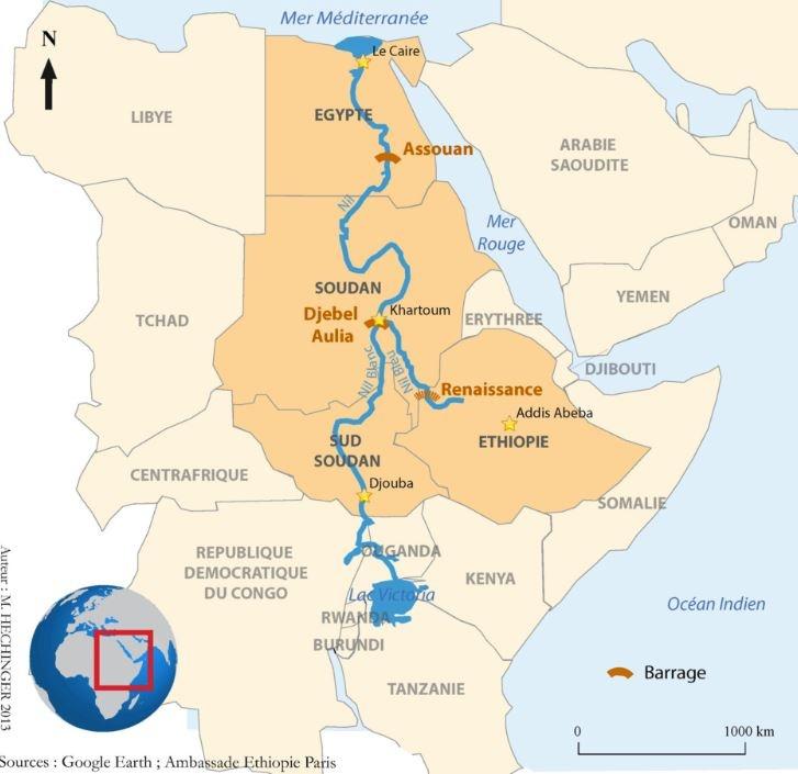 projet de construction du barrage de la Renaissance sur le Nil ob_fe9ef9_carteethiopie2