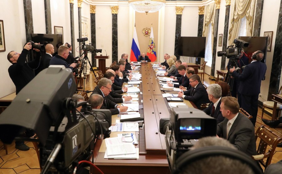RUSSIE PH 1 SUR 8 Meeting with Government members. asw0Sy6YGcxA7aWAjfS0pWGKQWA48Bzi