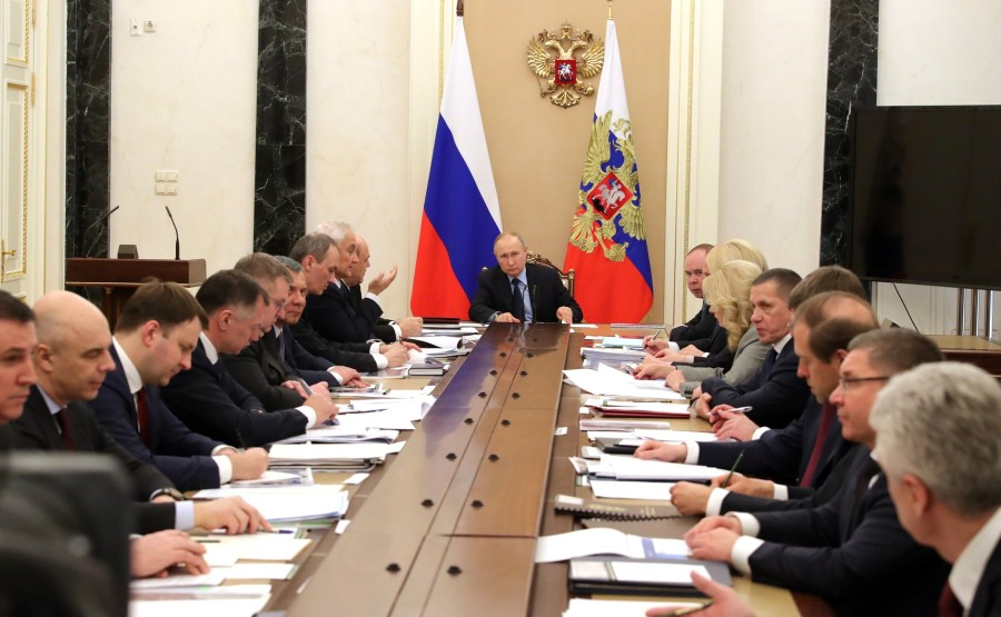 RUSSIE PH 5 SUR 8 Meeting with Government members. IabNzJuSnft3zJN4nSAIjLuAnGuxmIj4