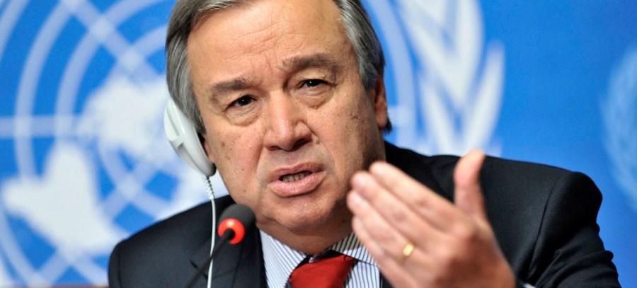 Secrétaire général António Guterres. image1170x530cropped
