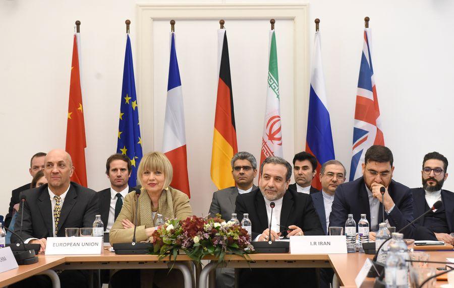 Une réunion de la Commission mixte du Plan d'action global conjoint (PAGC) se tient à Vienne, en Autriche, le 6 décembre 2019. (Xinhua-Guo Chen) 138619892_15759494011861n