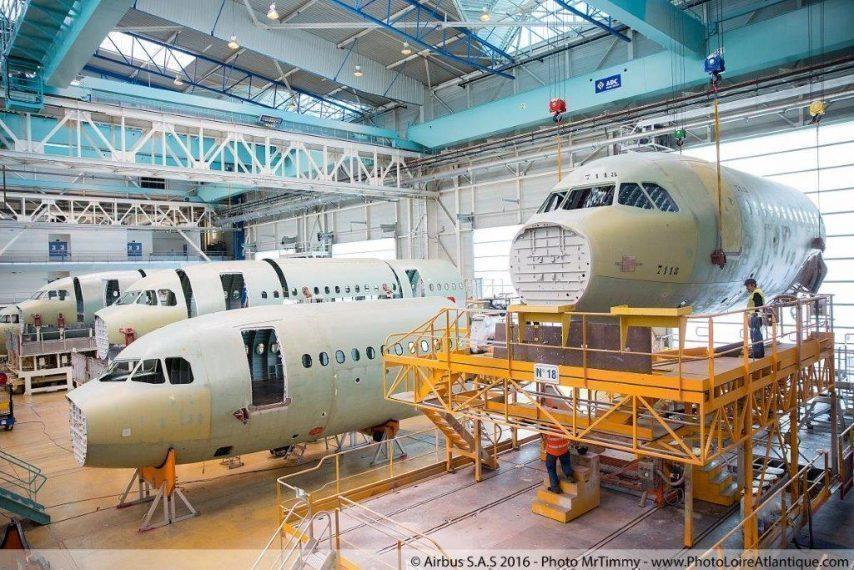 2h8b7824-bd-1-854x570 Les sites de production d'Airbus sont à l'arrêt depuis ce mardi 17 mars 2020 (©MrTimmy – www.photoloireatlantique.com)