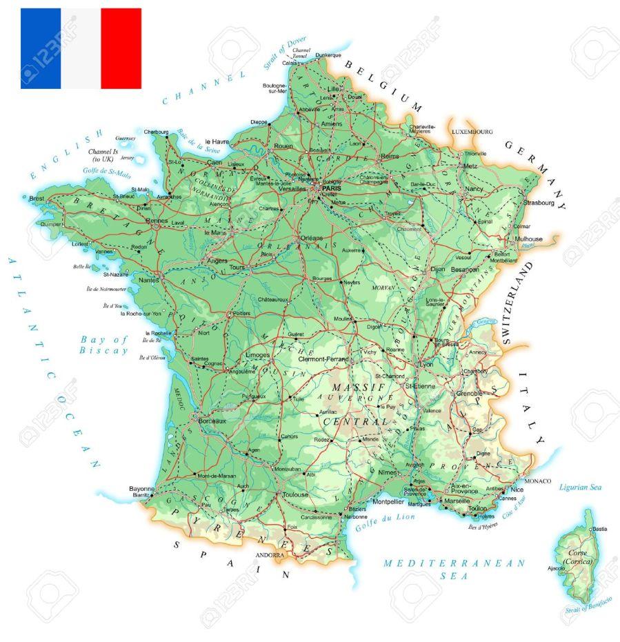 44555376-france-carte-détaillée-topographique-illustration-plan-contient-contours-topographiques-pays-et-noms-de-