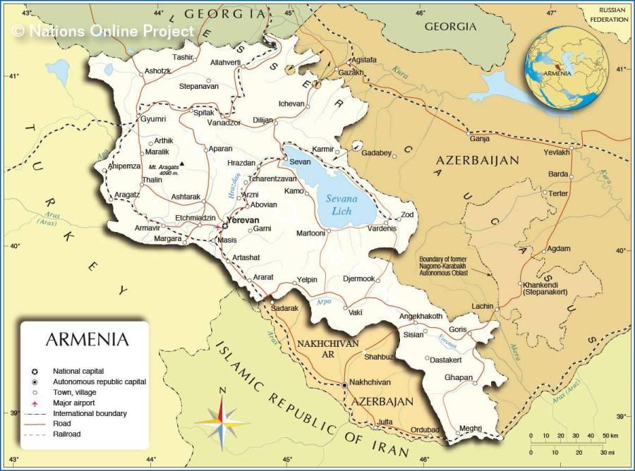 armenie-carte