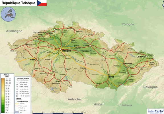 carte-de-republique-tcheque-version-relief
