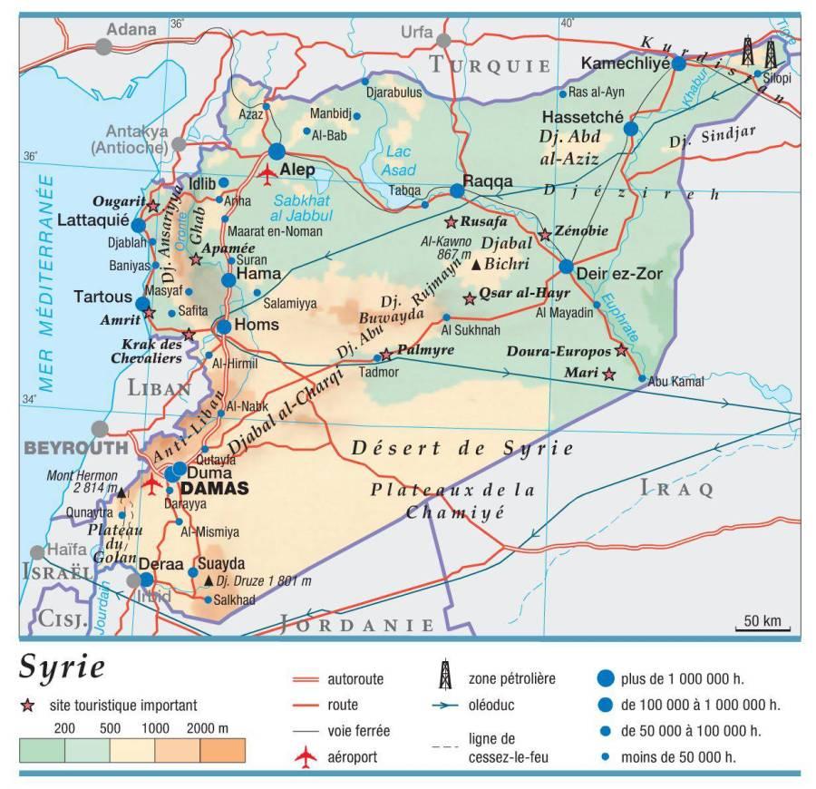 carte-syrie