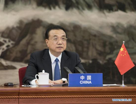 CHINE Le Premier Ministre Li Keqiang FOREIGN202004150819000598802241877