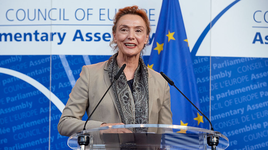 Conseil de l'Europe Marija Pejčinović Burić Pejčinović Burić-_SWE7065