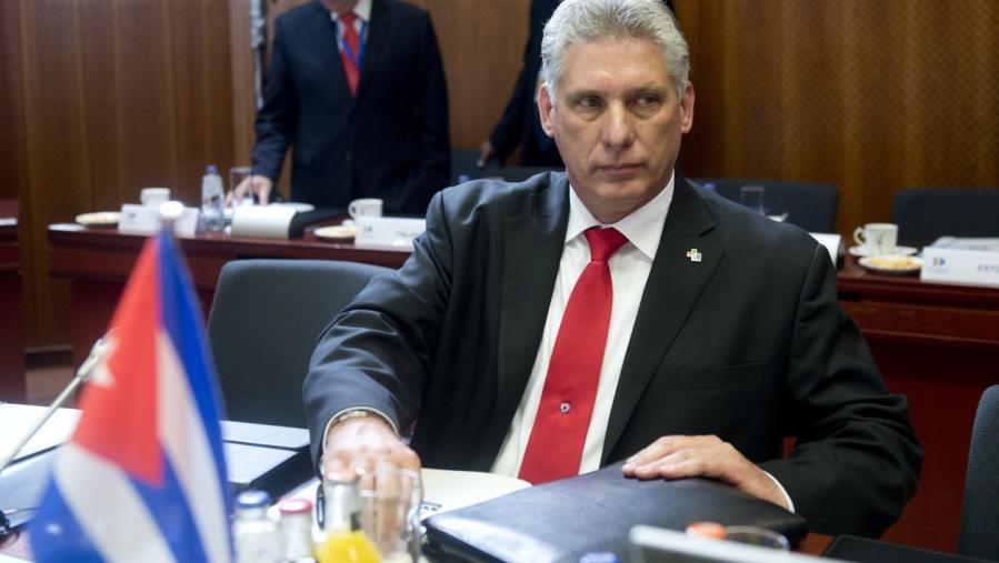 cuba Diaz-Canel, le président cubain 07a22a6543ef68f86d73033a56609