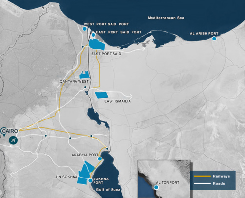 EGYPTE ZONE ECONOMIQUE 25201893-26600023