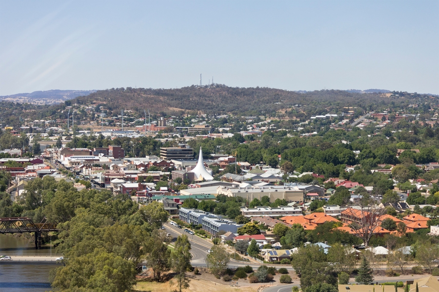 eustralie Aerial_view_of_Central_Wagga_Wagga