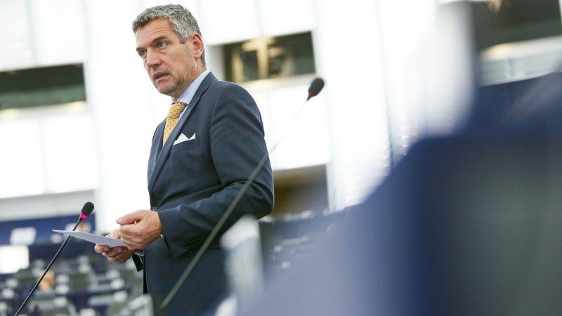 Herbert Dorfmann (PPE), le coordinateur à la Commission de l'agriculture du Parlement européen. [EP CUGNOT]20200114_EP-098378A_MCU_255_RESIZED_L-800x450