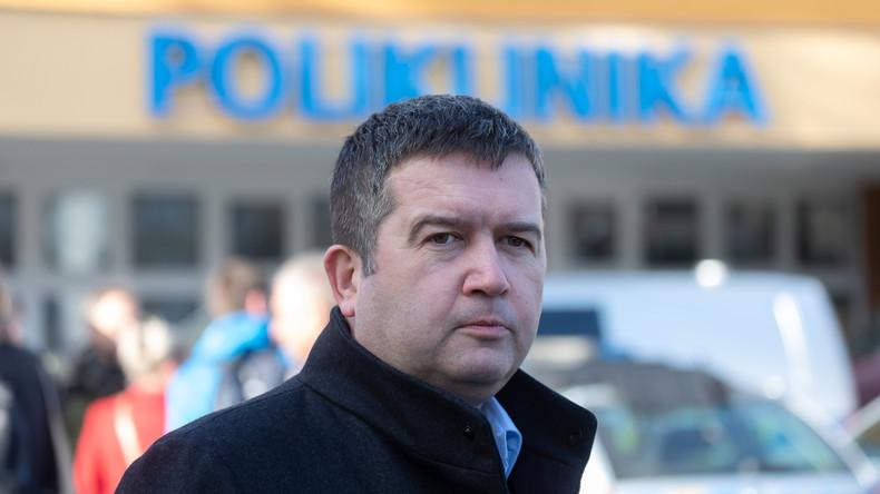 Jan Hamáček, vice-président du gouvernement tchèque et ministre de l'Intérieur. 5e7750676f7ccc5303623162
