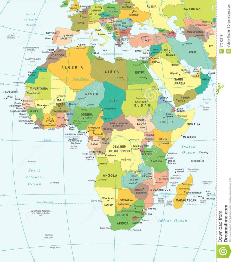 l-afrique-carte-illustration-57592118