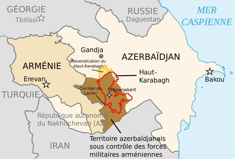 le conflit azerbaïdjano-arménien dans le Haut-Karabakh.42112543-35209930