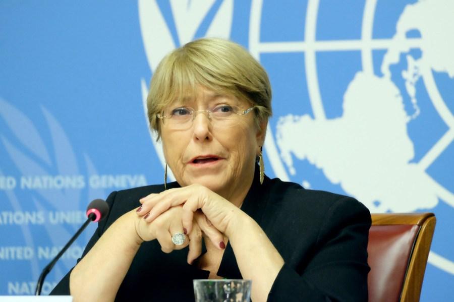Michelle Bachelet, Haute-Commissaire des Nations unies aux droits de l'homme, image1024x768