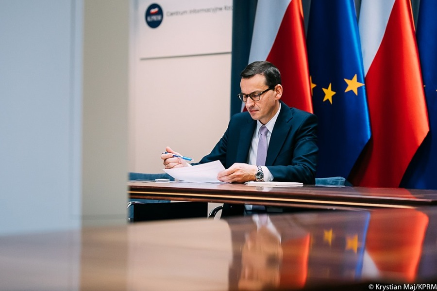 pologne 2020.04.09-morawiecki-fb