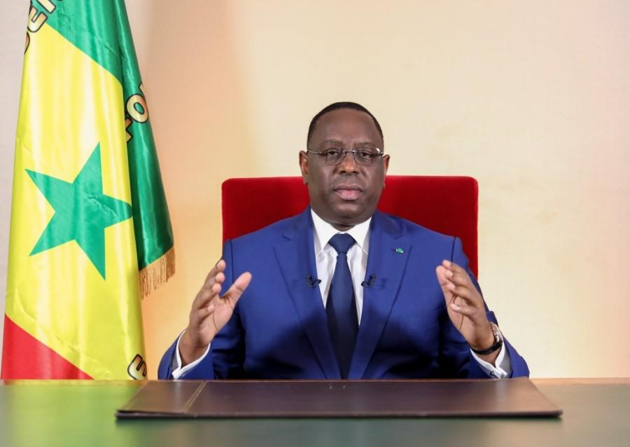 PRESIDENT SENEGAL le Chef de l'Etat, Macky Sall 60e anniversaire de l'accession à l'indépendance du Sénégal l7b65652954d