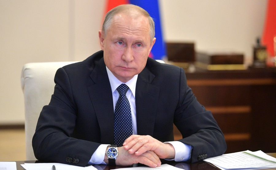 RUSSIE PH 6 SUR 6 April 7, 2020 Novo-Ogaryovo, Moscow Region WVgdR5TfCCxQVHVqbdSptGfFRf1N8p0n