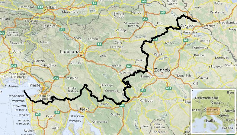 Slovénie-Croatie