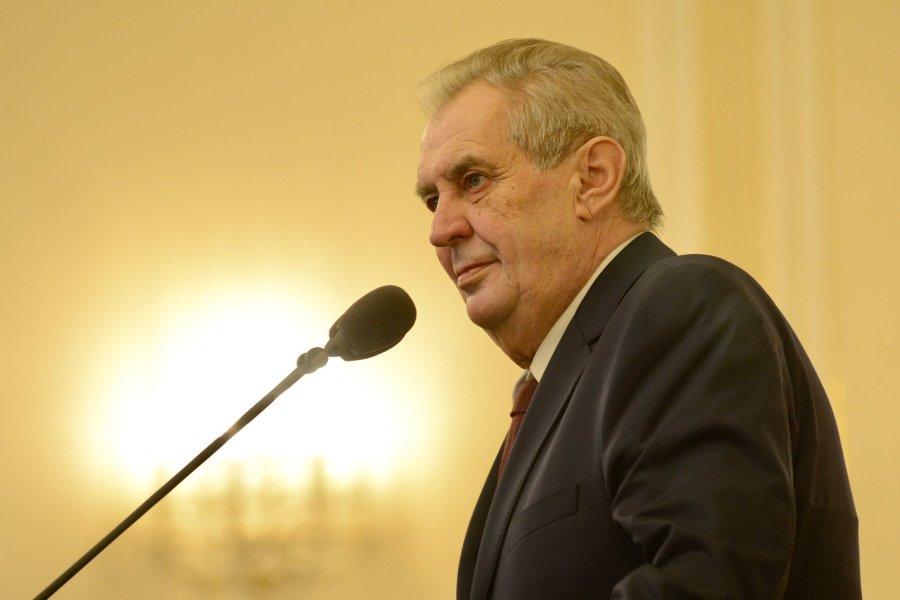 tchequie Le président tchèque Miloš Zeman 2020.03.12-zeman-fb