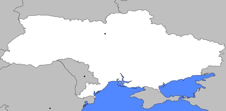 UKRAINE carte-vierge-ukraine