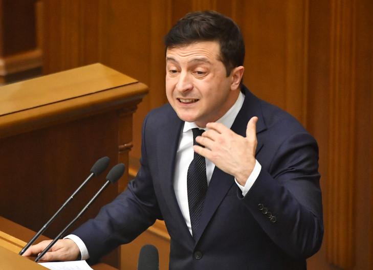 (Photo by Sergei SUPINSKY / AFP)